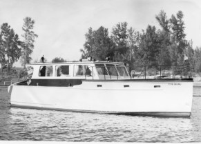Rodgers Jenkins second boat, the Camelot, in 1965
